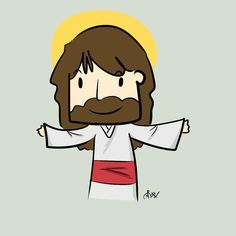 chibi || Jesus by Hospitalisation.deviantart.com on @deviantART