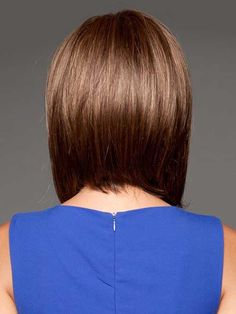 Long Bob with Layers Back View