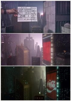 """Blade Runner"" - Los Angeles 2019 city miniature set"