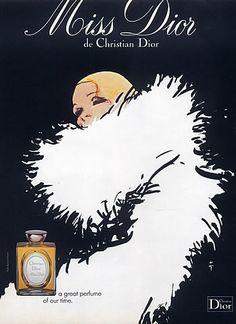 affiche bourjois soir de paris parfums france 1950 illustration de raymond vintage ads. Black Bedroom Furniture Sets. Home Design Ideas