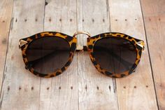 Leopard Arrow Temple Sunglasses. Only $20, click the link to purchase