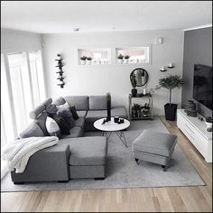 160 cozy small living room decor ideas for your apartment page 10 Small Living Room Ideas Apartment Cozy Decor Ideas Living page Room Small Living Room Decor Cozy, Living Room Grey, Home Living Room, Apartment Living, Interior Design Living Room, Living Room Designs, Cozy Apartment Decor, Masculine Living Rooms, Living Room Colors
