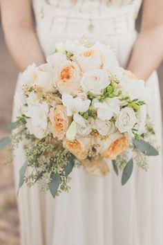 bridal bouquet // photo by HazelwoodPhotography.com