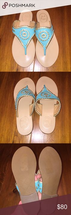New jack Rodgers sandals 6.5 NEW never worn jack Rogers sandals size 6.5 Jack Rogers Shoes Sandals