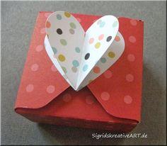 Sigrids kreative ART: Herzbox mit dem Envelope Punchboard