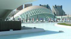 #valencia #spain #ciudad #delas #ciencias #love #this #city #blue #and #white
