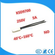 2PCS KSD9700 250V 5A Bimetal Disc Temperature Switch N/O Thermostat Thermal Protector 40~135 degree centigrade #electronicsprojects #electronicsdiy #electronicsgadgets #electronicsdisplay #electronicscircuit #electronicsengineering #electronicsdesign #electronicsorganization #electronicsworkbench #electronicsfor men #electronicshacks #electronicaelectronics #electronicsworkshop #appleelectronics #coolelectronics