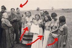 Roma Girls Humiliation WWII