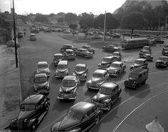 Trânsito, Rio Jean Manzon, circa 1940