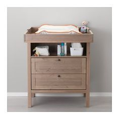IKEA - SUNDVIK, Changing table/chest,