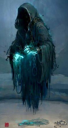 Gothic Fantasy Art, Fantasy Concept Art, Fantasy Artwork, Fantasy Monster, Monster Art, Arte Horror, Horror Art, Grim Reaper Art, Beautiful Dark Art