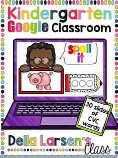 Google Classroom is the perfect way to ignite your literacy block Phonological/Phonemic Awareness is a critical step in building a strong foundation for early reading success.  Students need to increase fluency in identifying, blending, and manipulating sounds (phonemes). Using CVC words during word work can help increase this ability to segment and blend words. These skills help increase reading fluency and building confident readers.