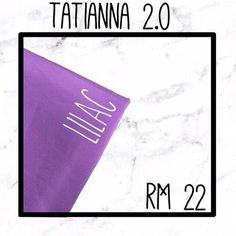 TATIANNA 2.0 (shawl) Material : Bubble chiffon  Price : RM 22 Measurement : 2.0m  Available for Free COD from Kota Kinabalu to Uitm ( additional charges will be added depending on the distance)  Comfortable to wear and easy to form; not see through For further inquiries  Whatsapp  0164200612 to place your order!  P/s : (colour might be slightly different due to the lightning and screen resolution)