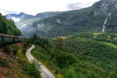 Flåm train , Norway