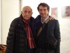 L'artista Mauro Faletti e il Maestro Franco Fontana
