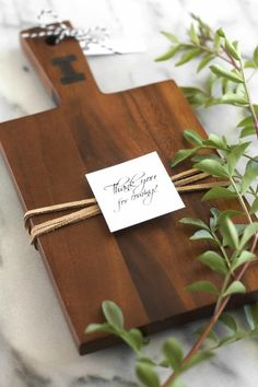 planche à découper et cadeau personnalisé pour Noël