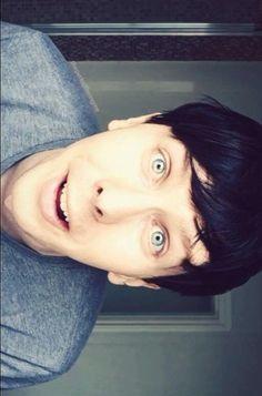 His eyes!