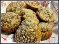 Strusel Topped Pumpkin Spice Muffins