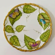 Dinner Is Served, Hand Painted, Painted Porcelain, Fine China, Dinner Plates, Dinnerware, Gifts For Mom, Art Nouveau, Table Settings
