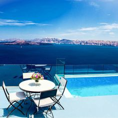 The amazing Astarte Suites in #santorini #greekislands  Who would you take with you? . by slimtavatea