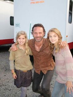 Brighton Sharbino The Walking Dead. Carl Grimes, Fear The Walking Dead, Andrew Lincoln, Best Series, Best Shows Ever, Movies And Tv Shows, Behind The Scenes, Brighton Sharbino, Chandler Riggs