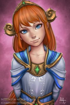 Scylla from Smite - Mirco Sciam