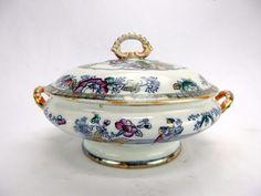 Bavaria S Signed & Co 1880-1899 Special Section Z White & Pink Porcelain Trinket Dish