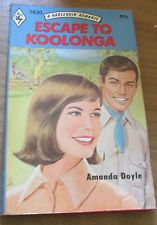 Vintage Escape to Koolonga Amanda Doyle PB 1972 Harlequin Romance