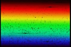 The Solar Spectrum It is still not known why the Sun's light is missing some co. by Stories and Space Facts Renewable Energy, Solar Energy, 65 Years Old, Here On Earth, Sun And Stars, Solar Lights, Spectrum, Science Fiction, Physics