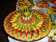 Um blogue sobre decoração com Fruta e Legumes, Art Fruit Carving