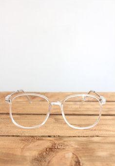 247a56ea6d0 CLEAR FRAME EYEGLASSES Transparent Glasses Frames