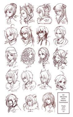SRC - Batch4 by omocha-san on deviantART ✧ #characterconcepts ✧