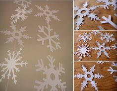 Flocon de neige - template
