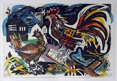 Mark Hearld - GODFREY & WATT Harrogate, North Yorkshire , specialising in British art