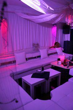 Ultra VIP area at Eden's Lounge Bar & Nightclub.