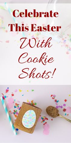 Celebrate This Easter With Cookie Shots At The Dirty Cookie - Catered Or Delivered, Easter Gift For Adults, Easter Baskets For Toddlers, Baby Easter Basket, Easter Cookies, Easter Treats, Easter Desserts, Cookie Designs, Cookie Ideas, Cookie Desserts