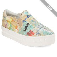 Ash Jungle Bis Slip-On Platform Sneakers