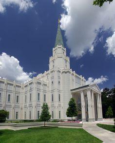 Houston Texas Temple | LDS Temple Photography