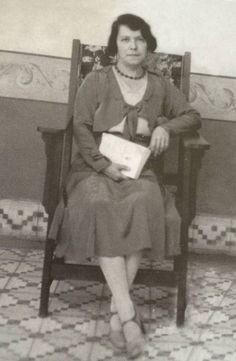 Emma Silveira Barrios. Mi tía