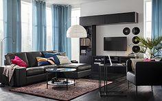 Linee semplici ed essenziali per un soggiorno moderno