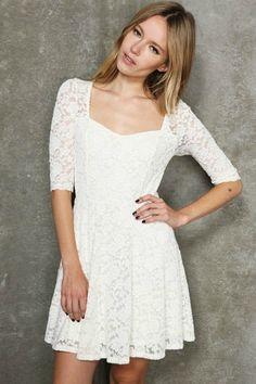 hemsandsleeves.com cheap white dresses (03) #cutedresses