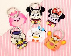 These Disney Cuties Phone Rings Add Serious Cute Power - New Sites Disney Pop, Cute Disney, Disney Mickey, Phone Accesories, Cell Phone Accessories, Phone Cases Iphone6, Iphone Cases, Disney Collection, Popsockets Phones