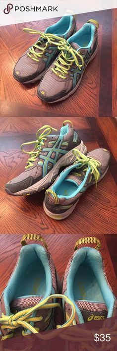 ASICS Never Worn Tennis Shoes These are in brand new condition! GEL-Venture 5 Running Shoes. Asics Shoes Athletic Shoes