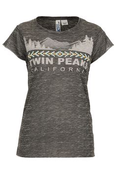 Twin Peaks Aztec Tee By Project Social T - Topshop USA