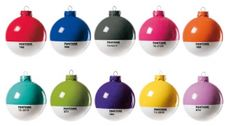 Pantone Christmas Balls. These Pantone Balls provide clever christmas gift ideas for the client who has everything.