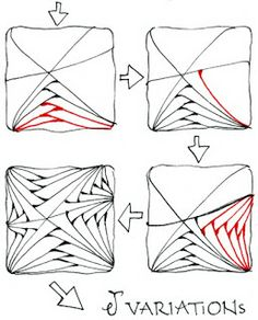 Doodle Art e Zentangles... affascinanti giochi di linee.