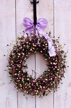 Spring WreathSpring Door WreathFront Door by DesigningCreations, $69.00  Spring -Front Door!