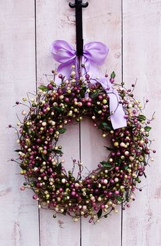 Spring WreathSpring Door WreathFront Door by DesigningCreations, $69.00  Spring -Front Door!