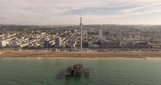 Galería de i360 de British Airways, la torre de observación móvil más alta del…