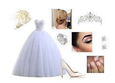 Wedding Outfit by ioana-isachi on Polyvore featuring L.K.Bennett and Allurez